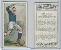 P72-100 Player, Footballers 1928, #11 John Duncan, Leicester City