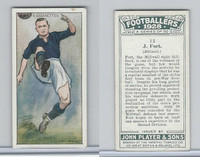 P72-100 Player, Footballers 1928, #13 J. Fort, Millwall