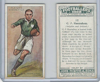 P72-100 Player, Footballers 1928, #16 CJ Hanrahan, Dolphin & Ireland