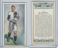 P72-100 Player, Footballers 1928, #17 H. Healless, Blackburn Rovers