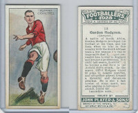 P72-100 Player, Footballers 1928, #18 Gordon Hodgson, Liverpool