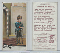 S0-0 Stollwerck Chocolate, Boy Soldiers, 1900, #76, IV Departure of Troops