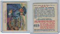 1949 Bowman, America Salutes FBI, #10 Twice Stopped For Speeding