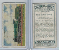 W62-466 Wills, Railway Engines, 1924, #1 Great Western Railway