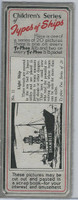 T0-0 Typhoo Tea, Types of Ships, 1955, #11 Light Ship, Shambles - Panel