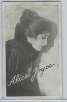 W Card, Kromo Gravure Silent Movie Stars, 1920, Alice Joyce