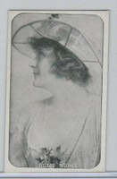 W Card, Kromo Gravure Silent Movie Stars, 1920, Billie Burke