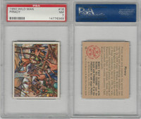 1950 Bowman, Wild Man, #16 Piracy, PSA 7 NM