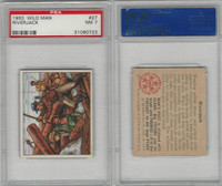 1950 Bowman, Wild Man, #27 Riverjack, PSA 7 NM
