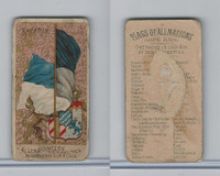 N10 Allen & Ginter, Flags of all Nations, 1890, Bavaria