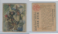 1949 Bowman, Wild West, #A-1 Capturing British Fort, George Rogers Clark