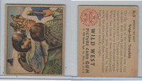 1949 Bowman, Wild West, #A-5 Trap-Line Troubles