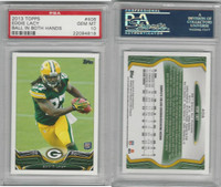2013 Topps Football, #406 Eddie Lacy RC, Packers, PSA 10 Gem