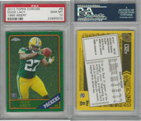 2013 Topps Chrome Football, #8 Eddie Lacy RC, Packers, PSA 10 Gem