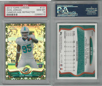 2013 Topps Chrome Football, #121 Dion Jordan, Dolphins REF, PSA 10 Gem