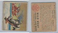 1949 Bowman, Wild West, #A-11 Lone-Star Settlers, Texas