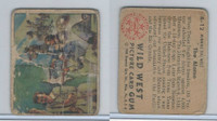 1949 Bowman, Wild West, #A-12 The Alamo, Texas