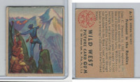 1949 Bowman, Wild West, #A-13 Fremont In The Rockies