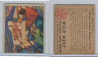 1949 Bowman, Wild West, #A-14 Indians Attack Wagon Train