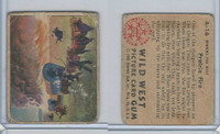 1949 Bowman, Wild West, #A-16 Prairie Fire