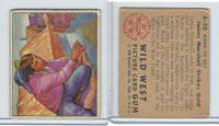 1949 Bowman, Wild West, #A-20 James Marshall Strikes Gold