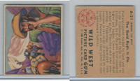 1949 Bowman, Wild West, #A-21 The Gold Rush Is On