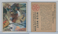 1949 Bowman, Wild West, #A-35 Bridge Disaster