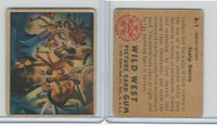 1949 Bowman, Wild West, #B-1 Scalp Dance