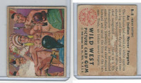 1949 Bowman, Wild West, #B-8 An Indian Never Forgets
