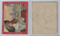 1909 T74 American Tobacco, Jigsaw Puzzle Pictures, England, Flag, ZQL