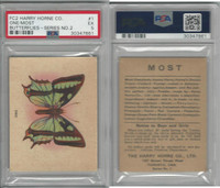 FC2, Harry Horne Co, Butterflies, 1920's Canada, # One, PSA 5 EX