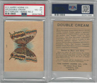 FC2, Harry Horne Co, Butterflies, 1920's Canada, # Six, PSA 4 VGEX