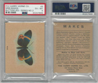FC2, Harry Horne Co, Butterflies, 1920's Canada, # Nine, PSA 6 EXMT