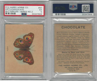 FC2, Harry Horne Co, Butterflies, 1920's Canada, # Fifty, PSA 5 EX