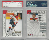 1997 Pinnacle BAP Autographs Hockey, #121 Kirk Muller, Panthers, PSA 10 Gem