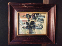 H606 J&P Coats, Uniform Army United States, 1890's, 1868 In Frame