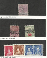Bechuanaland, Postage Stamp, #12, 70-71, 121-123 Used, 1887-1937