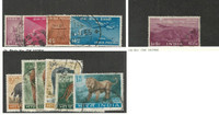 India, Postage Stamp, #248-51, 268, 361a-366 Used, 1954-63 Animals