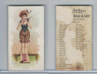 N187 Kimball, Fancy Bathers, 1889, Bath (B)