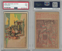 1953 Bowman, Antique Autos, #46 Peerless, PSA 7 NM