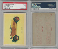 V339-16 Parkhurst, Old Time Cars, 1956, #31 Fiat, PSA 7 NM