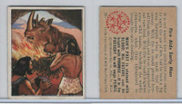1950 Bowman, Wild Man, #11 Fire Aids Early Man