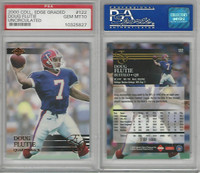 2000 Collectors Edge Football, #122 Doug Flutie, Bills, PSA 10 Gem