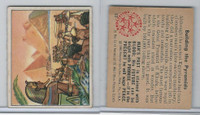 1950 Bowman, Wild Man, #13 Building The Pyramids, Egypt