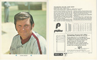 1971 Arco 8 X 10 Baseball Card, Phillies, Chris Short, ZQL