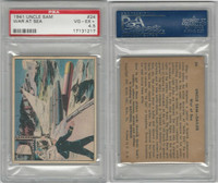R157 Gum Inc, Uncle Sam, 1941, #24 War At Sea, PSA 4.5 VGEX