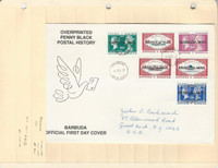Barbuda Stamp Collection 1991, #1151-1157 First Day Cover