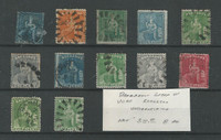 Barbados, Postage Stamp, # Lot of Used Classics (p)