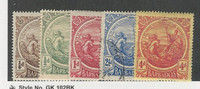 Barbados, Postage Stamp, #127-129, 133 Mint Hinged, 131 Used, 1916-18