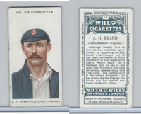 W62-76 Wills, Cricketers, 1908, #14 J. H. Board, Gloucestershire